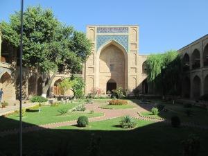 The madrassah in Tashkent