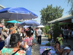 Street Stalls in Tashkent