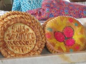 Samarkand Market: Special Bread
