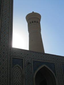 Sunrise over Bukhara