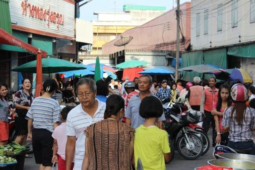 Market in Trang, Thailand