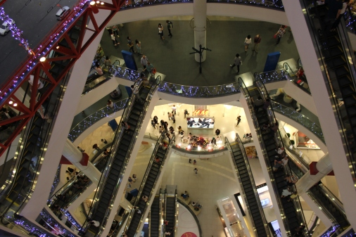 Channeling Escher in Terminal 21 Mall, #Bangkok