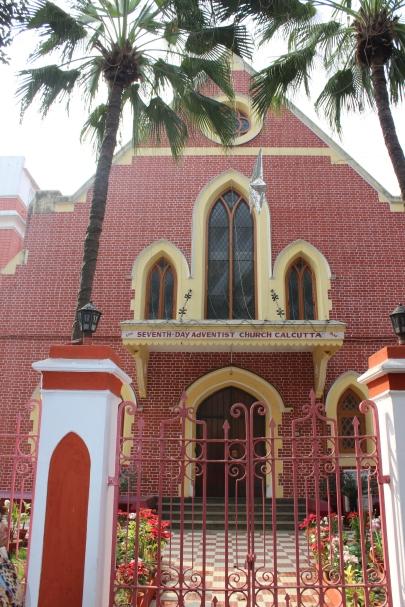 Christian church in Kolkata, India