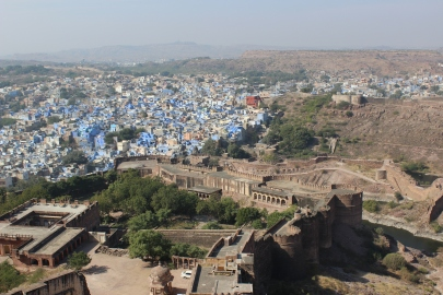Jodhpur, India: Blue City