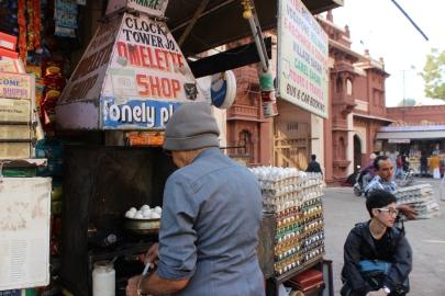 Jodhpur's Famous Mr. Omelette