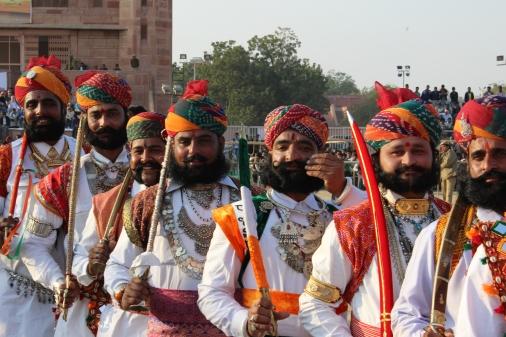 Rajasthan's manliest at Bikaner's camel festival