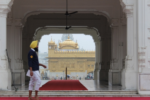 Sikh Gold Temple in Amritsar, India