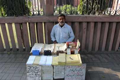 Selling Postal Supplies in Lahore, a Lonely Trade