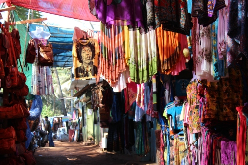Sales on the Beach: Anjuna, Goa, India
