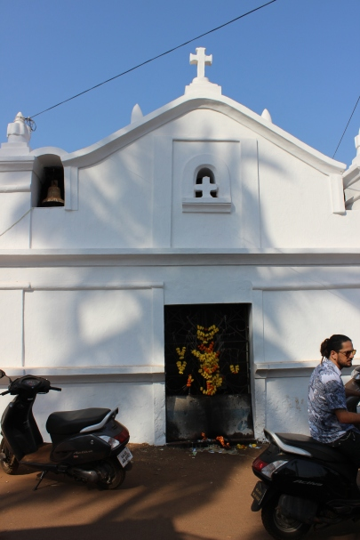 Chapel by the Flea Market, Anuna, Goa, India