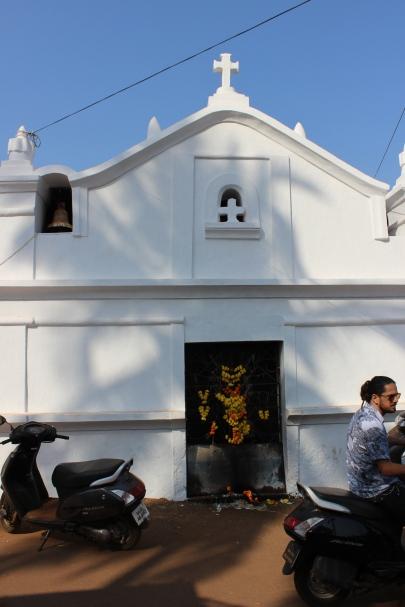 Chapel by the Flea Market, Anuna, Goa, India