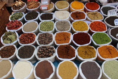 Palette for the Palate: market in Mapusa, Goa