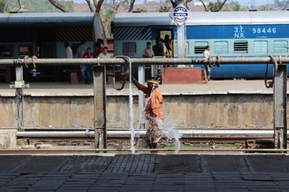 Train Station, Margao, Goa, India