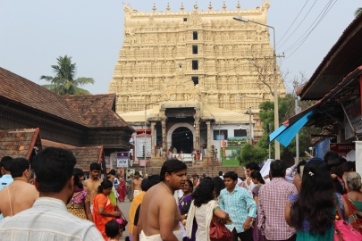 Sri Padmanabhaswamy Temple, Trivandrum, India
