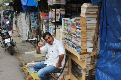 Bookseller in Trivandrum, India