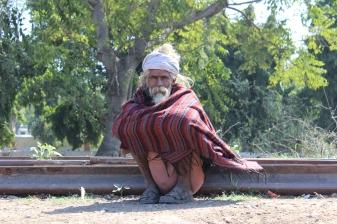Man in Mathura, India