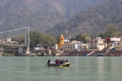 Rishikesh, India on the Ganges
