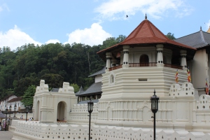 Temple of the Sacred Tooth in Kandy, sriLanka