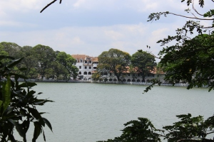 Central Lake in Kandy, Sri Lanka