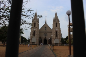 Christian Church in Negombo, Sri Lanka