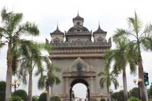 Vientiane's Arc de Triomphe: Patuxay
