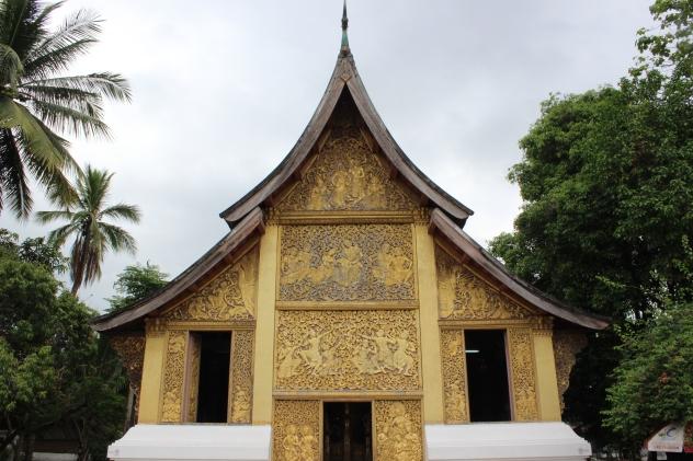Xieng Thong Temple in Luang Prabang, Laos