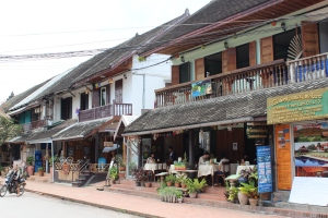 Miracle Mile in Luang Prabang, Laos