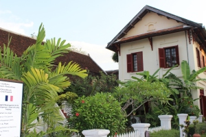 Colonial Architecture in Luang Prabang