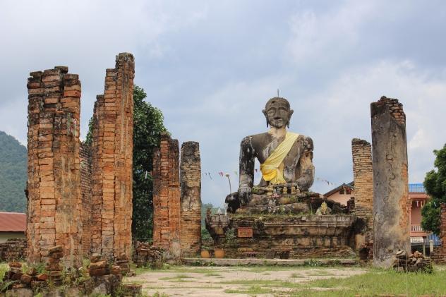 Temple at old Xieng Khoang (Meuang Khoun), Laos