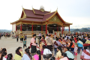 New Temple in Sam Neua, Laos