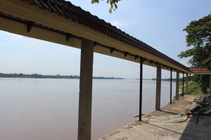 Mekong River at Takhek, Laos: Room with a view