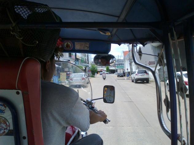 Travel by tuk-tuk in Asia