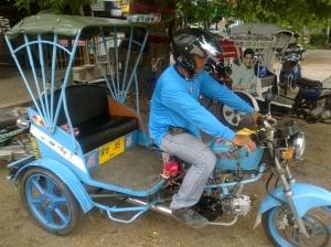 Homemade tuk-tuk in Phichit, Thailand
