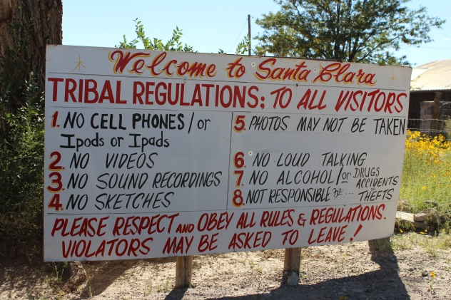 Rules and regs on the rez