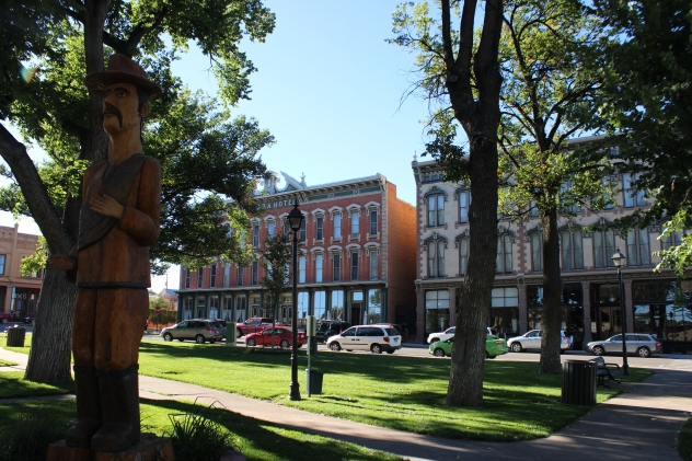 Historic Plaza and Hotel in Las Vegas, NM