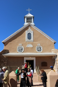Church in Galisteo, NM