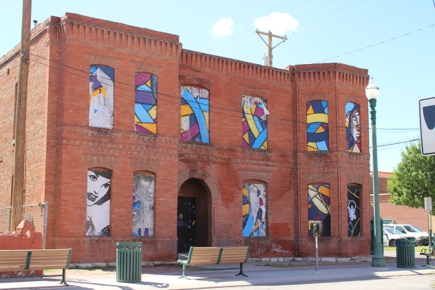 Arts district in El Paso, TX