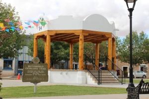 Plaza in la Mesilla, NM