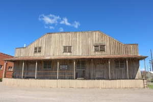The old store in Hurley, NM