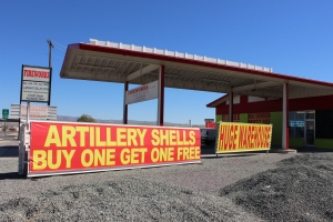 Lordsburg, NM: last gasp for cheap gas, and explosives...