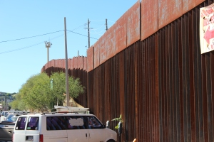 Parking at the Wall: Nogales