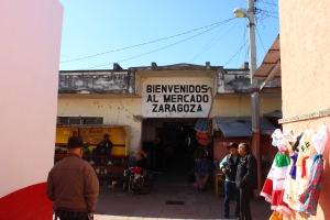 Market in Piedras Negras, Mexico