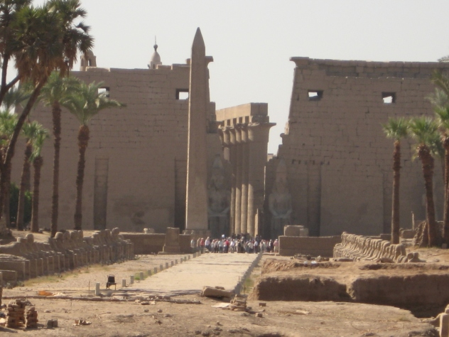 Ruins at Luxor, Egypt