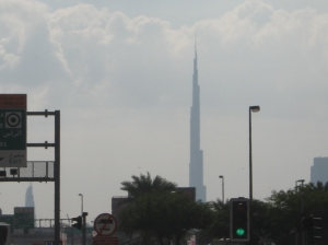 Dubai's Burj Khalifa, world's tallest building