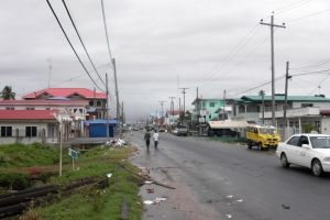 Day after Christmas in Guyana