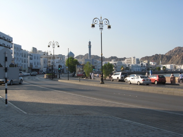 Muscat, Oman, by the sea...