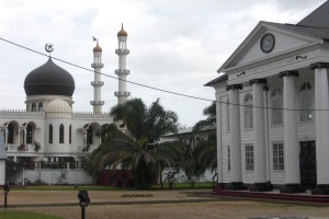 Modern multi-cultural Suriname