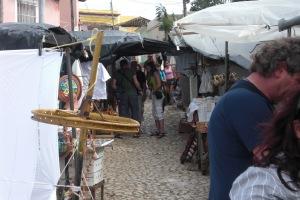 Tourist market in Cuba