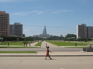 Pyongyang: city without cars