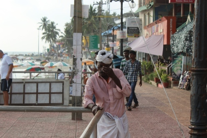 Miracle Mile at Kovalam Beach, India